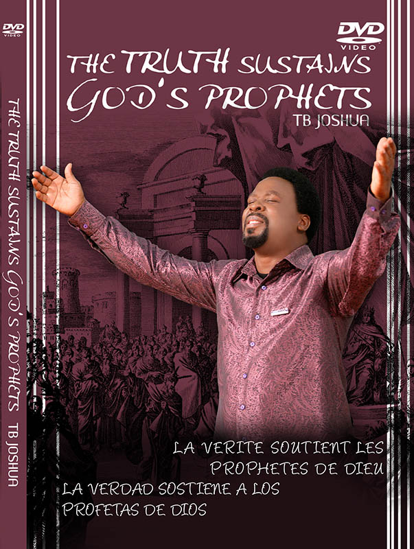 THE TRUTH SUSTAINS GOD'S PROPHETS DVD big