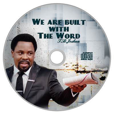 WE ARE BUILT WITH THE WORD