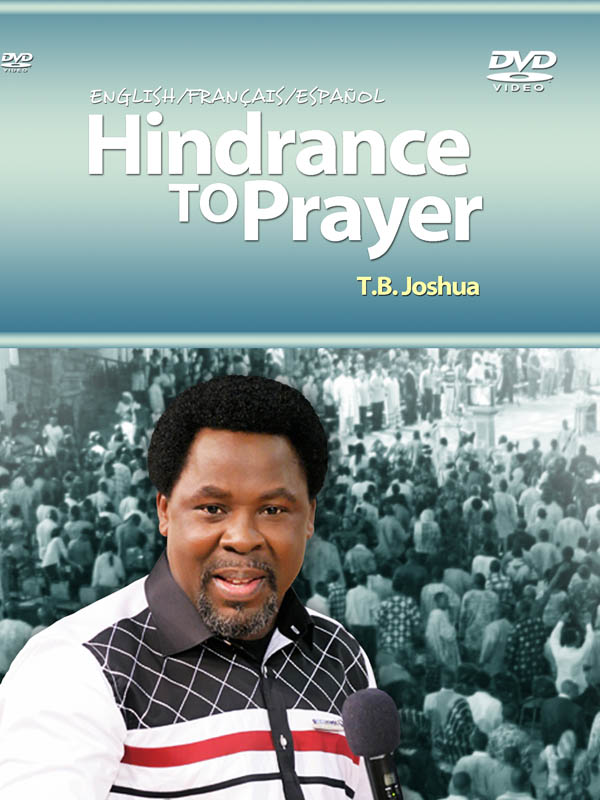 HINDRANCE TO PRAYER BIG
