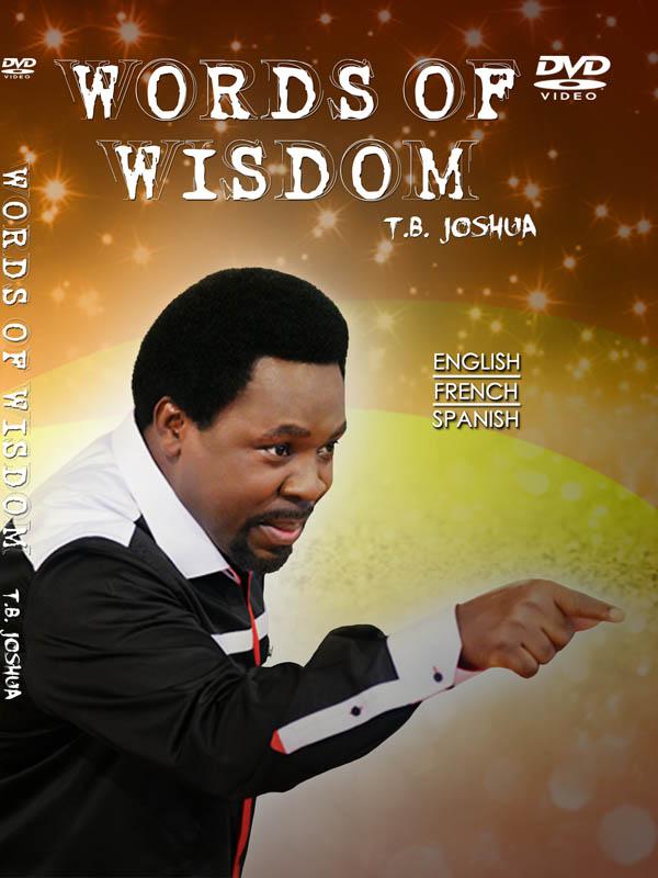 WORDS OF WISDOM DVD BIG