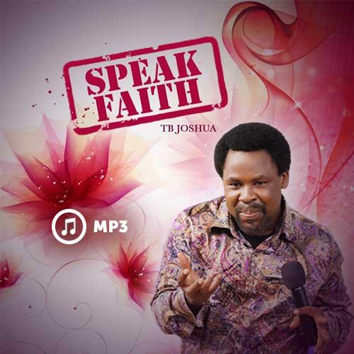 Speak Faith (MP3)