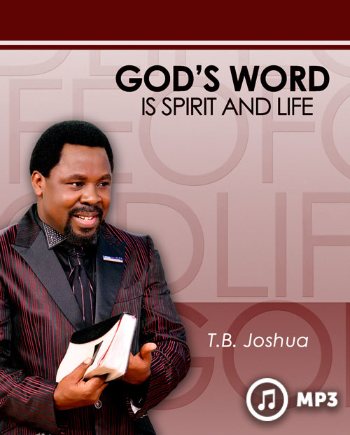 God's Word Is Spirit And Life (MP3)