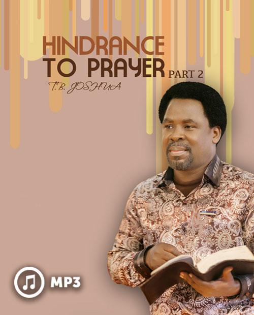 Hindrance To Prayer 2 (MP3)